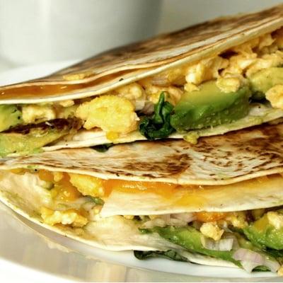 Vegetarische Tortillas