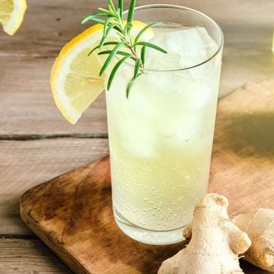 Zitronen-Ingwer Limonade